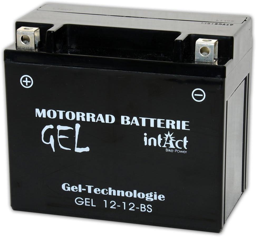 Intact Bike Power Gel 12v 10ah Ytx12 Bs 51012 Gel12 12 Bs Auto