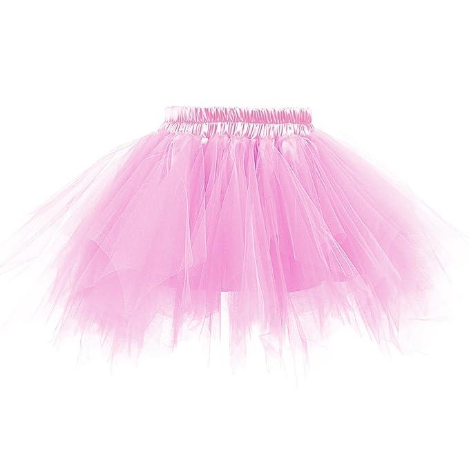 0f5245275b Amazon.com: LEEGEEL Womens Tulle Skirt Vintage Tutu Petticoat Puffy Tutus  Ballet Bubble Skirt for Party, Costume, Dance, Halloween: Clothing