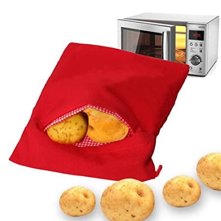 Gaocunh - Bolsa para microondas y patatas (lavable y ...