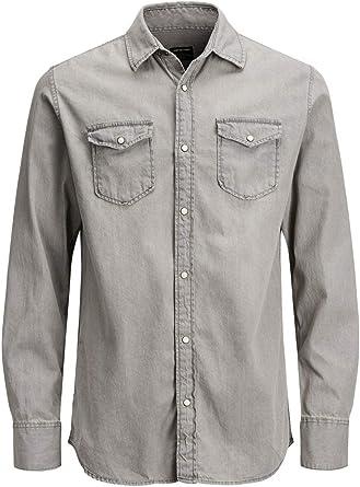Oferta amazon: Jack & Jones Jjesheridan Shirt L/S Camisa Vaquera para Hombre Talla S