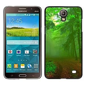 """For Samsung Galaxy Mega 2 , S-type Verde camino forestal"""" - Arte & diseño plástico duro Fundas Cover Cubre Hard Case Cover"""