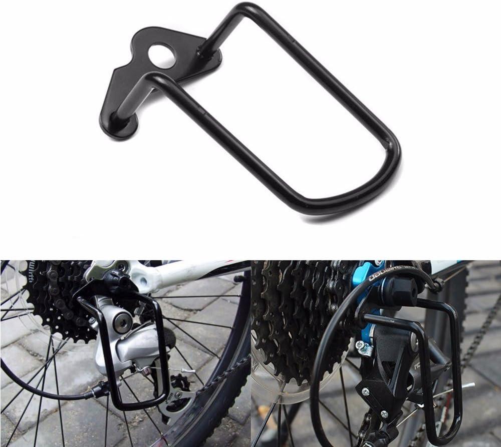 Protección Protector desviador trasero Cambio acero para Bici ...