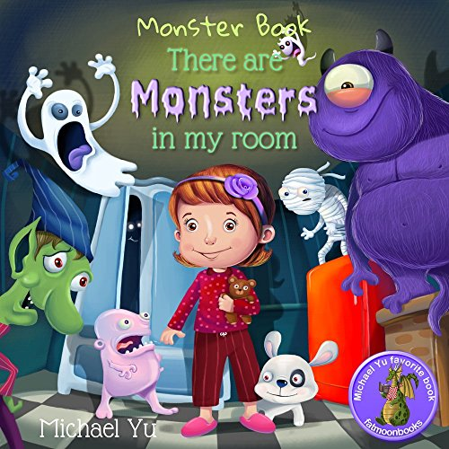 There are Monsters in my Room (Children Bedtime story picture book for Kids) -