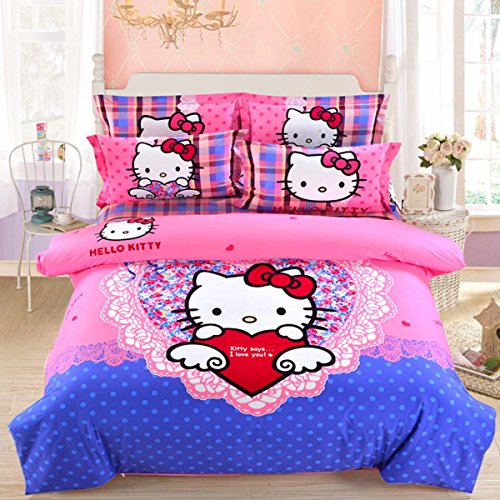 hello kitty bed sheets queen - 8
