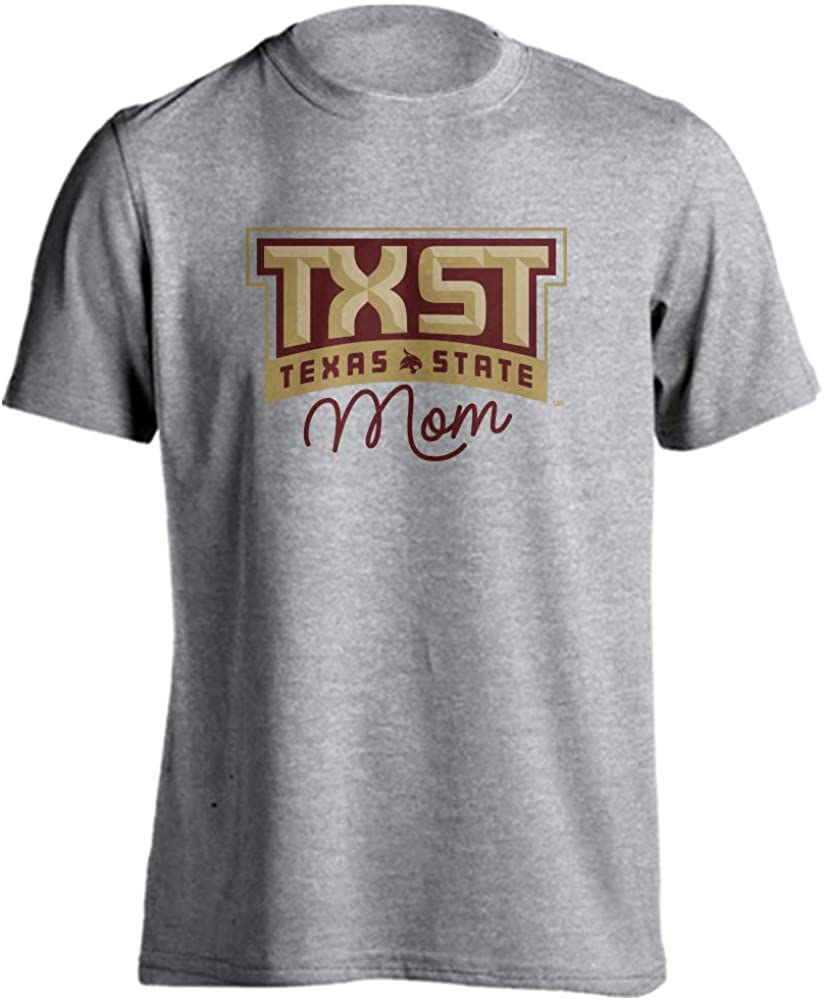 Sport Your Gear Texas State Bobcats Mom Proud Parent T-Shirt
