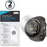 BoxWave®, salvaschermo ClearTouch Crystal (pacco da 2), pellicola protettiva HD che protegge dai graffi, per Suunto Spartan Ultra