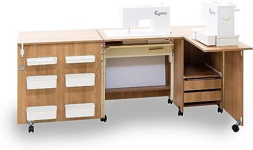 Comfort 5+ | Mueble para máquina de coser | (Beech Ellmau, L (Air ...
