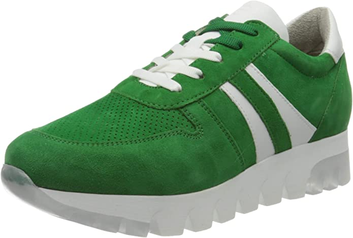 Tamaris Sneakers 23750-24 Damen Grün Green Suede
