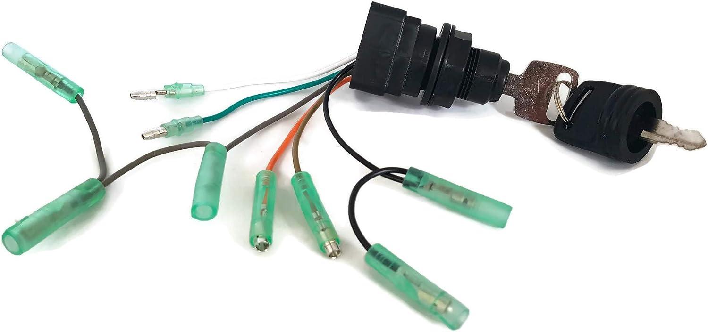 REPLACEMENT SUZUKI OUTBOARD ENGINE IGNITION SWITCH.37110-92E01//99E01//99E00