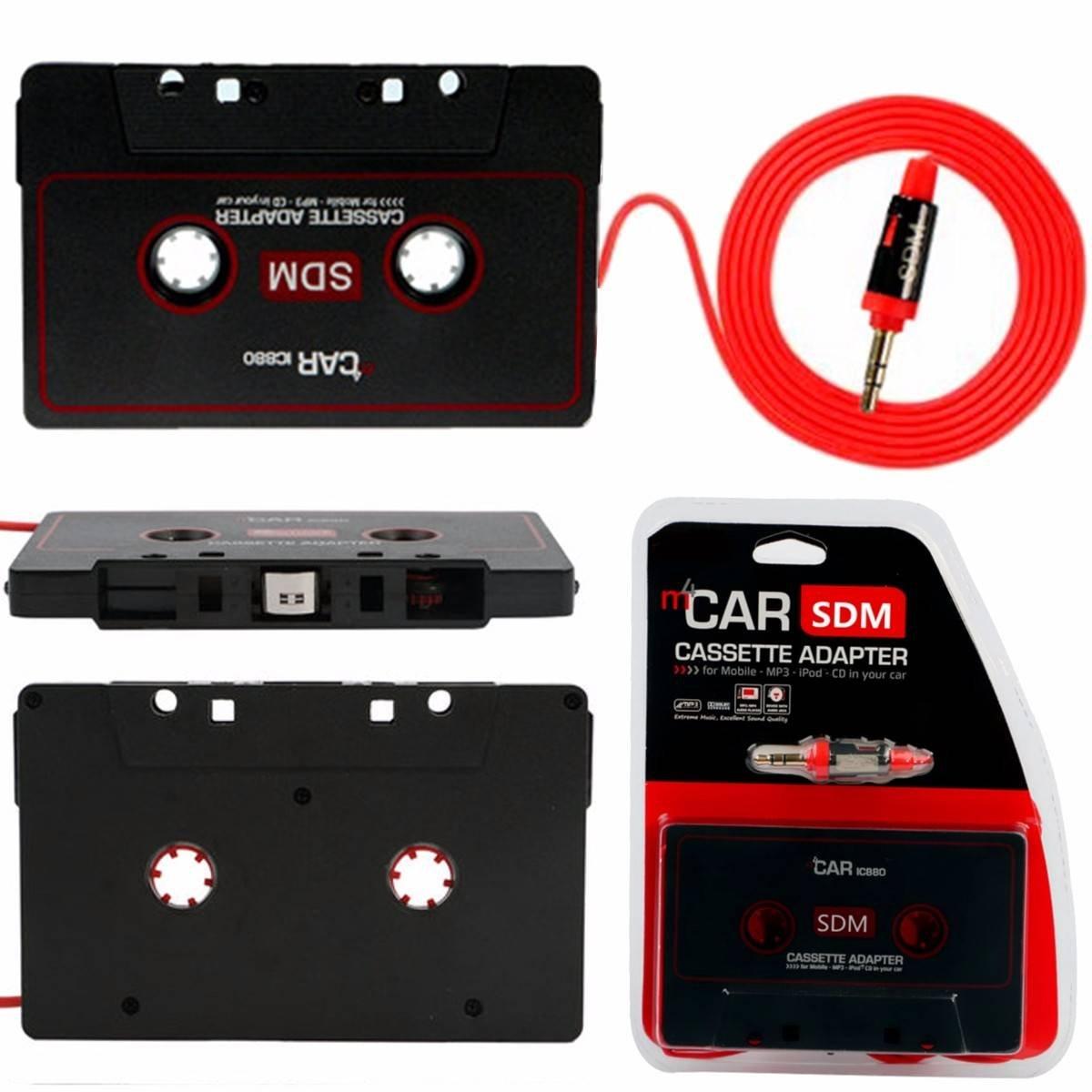 Audew Cassette Adaptador de la Cinta Estéreo del Coche 3.5mm para el ...