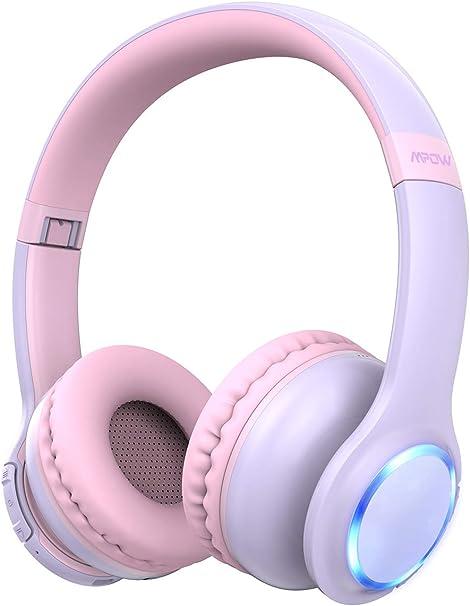 Kids Bluetooth Headphones Wireless Headphone Mpow Ch9 Amazon Co Uk Electronics