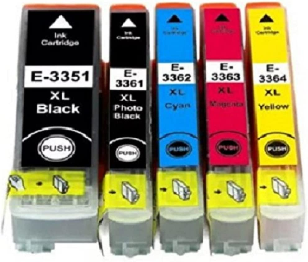Inksbroker T3357 Cartuchos de tinta compatibles para uso con ...