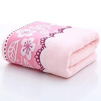 ZYJY Toallas de baño, 70 * 140 cm Que absorben el Agua, Toallas de baño de algodón Grueso, una Variedad de Colores para Elegir,A: Amazon.es: Hogar