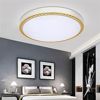 ANGEELEE Minimaliste et moderne plafonnier LED lumière salon ...