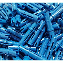 LEGO Technic Pin Long Blue Connector Mindstorm NXT Part 6558 (Quantity 150) by LEGO