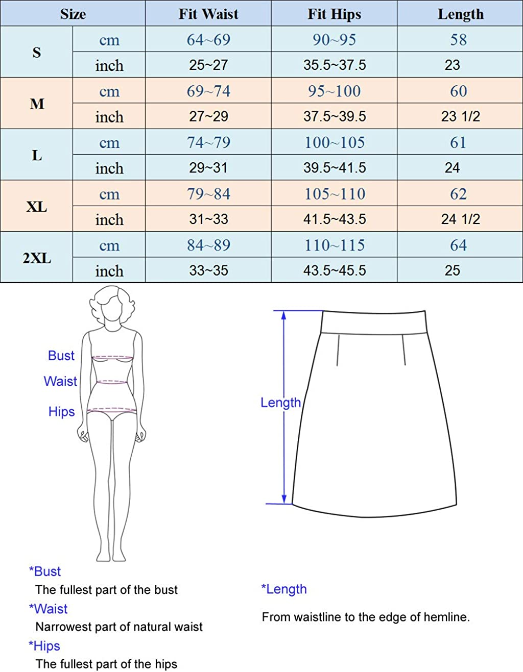 GRACE KARIN Mujer Falda de Tubo Corta L/ápiz Cintura Alta Cuero de Imitaci/ón