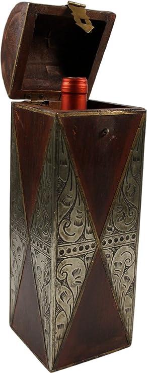 Guru-Shop Pequeña Sektflaschenbox Vino, 36x11x11 cm ...