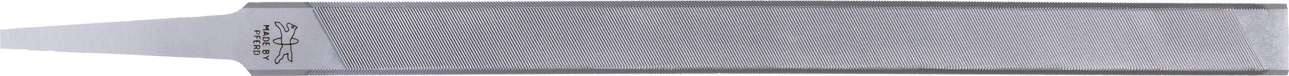 PFERD 17082 Chisel Bit Chain Saw Sharpening File, Flat Shape, 7'' Length, 0.325'', Chain Pitch (Pack of 12)