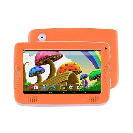 Auntwhale Niños Ordenador Portátil Portátil Pantalla IPS 1GB + 8GB Multi Touch OTG
