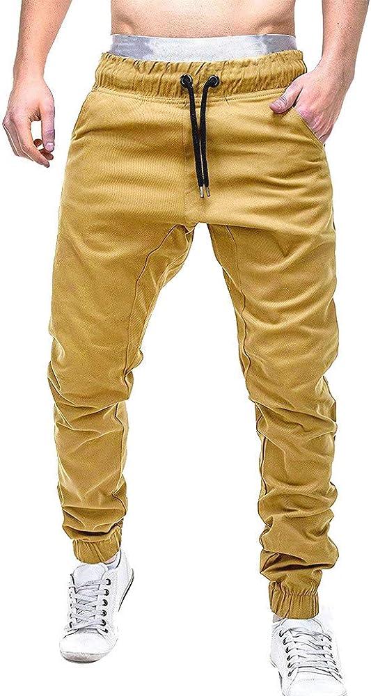 Vectry Pantalones De Trekking Hombre Vaqueros Slim Fit Bermudas ...