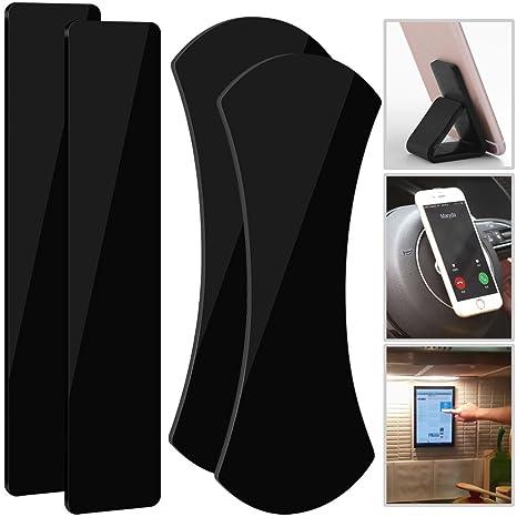 Qoosea Gel adhésif Collant Pads 4Pcs Incroyable Nano Pad en Caoutchouc  Flourish Lama Multifonctionnel Anti- 01453f2167c