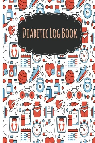 Diabetic Log Books: Daily Food Journal & Blood Glucose Log Book Before & After Mini-Size6x9