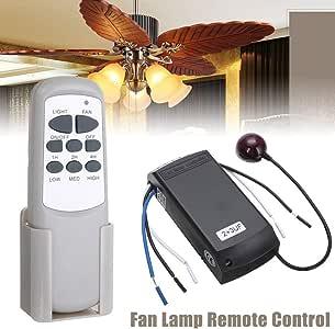 LNIMIKIY - Kit de Control Remoto para Ventilador de Techo, Mando a ...