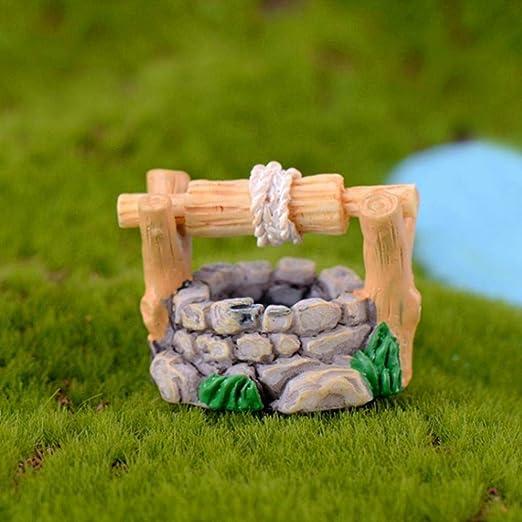 LC-Tools casa de muñecas en Miniatura, decoración de bonsái de jardín de Hadas Vintage: Amazon.es: Jardín