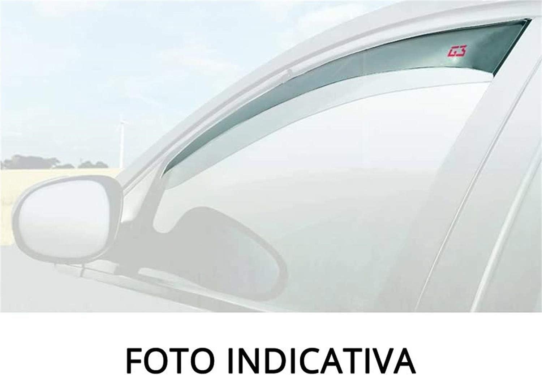 RICAMBIITALIA2017 Kit Deflettori Aria Antivento paravento antiturbo Antipioggia Anteriori 19.289