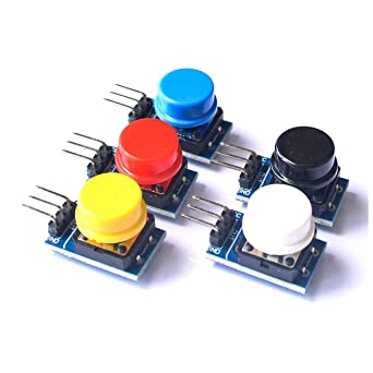 Measurement & Analysis Instruments Helpful 5pcs 12x12mm Big Key Module Big Button Module Light Touch Switch Module With Hat High Level Output For Arduino Raspberry Pi 3