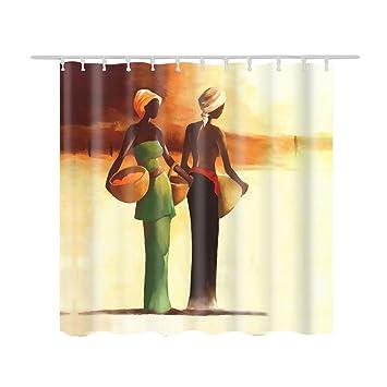 Chlove Rideaux de douche Style Indien, Imprime Femme Indienne ...
