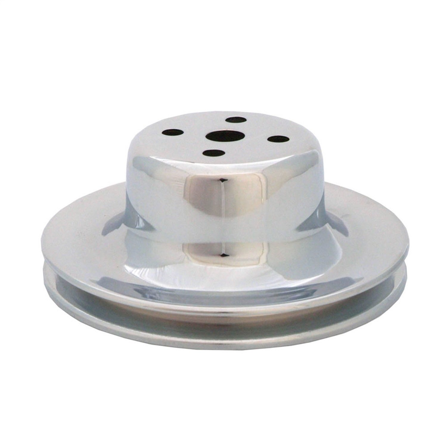 Spectre Performance 4491 Chrome Single Belt Water Pump Pulley for Ford 289 by Spectre Performance