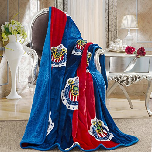 Chivas Touch Sherpa Lined Blanket product image