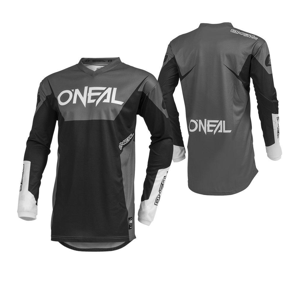 O'Neal Men's Element Racewear Jersey (Black, Large)