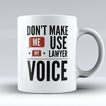 Lawyer Coffee Mug - Attorney Coffee Cup - Funny Lawyer