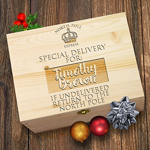 North Pole Express Delivery Personalised Christmas Santa ...