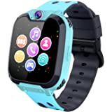 Kids Smart Watch Phone for Boys Girls, 1.54 inchesTouch Screen Smartwatch with Music Player Record Games Camera Alarm…