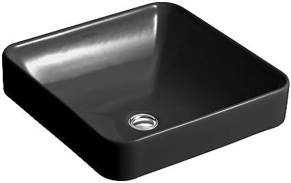Kohler K 2661 7 Vox Square Vessel Above Counter Bathroom Sink