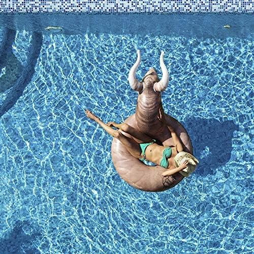Amazon.com: gofloats Bull hinchable Buckin Bull fiesta tubo ...