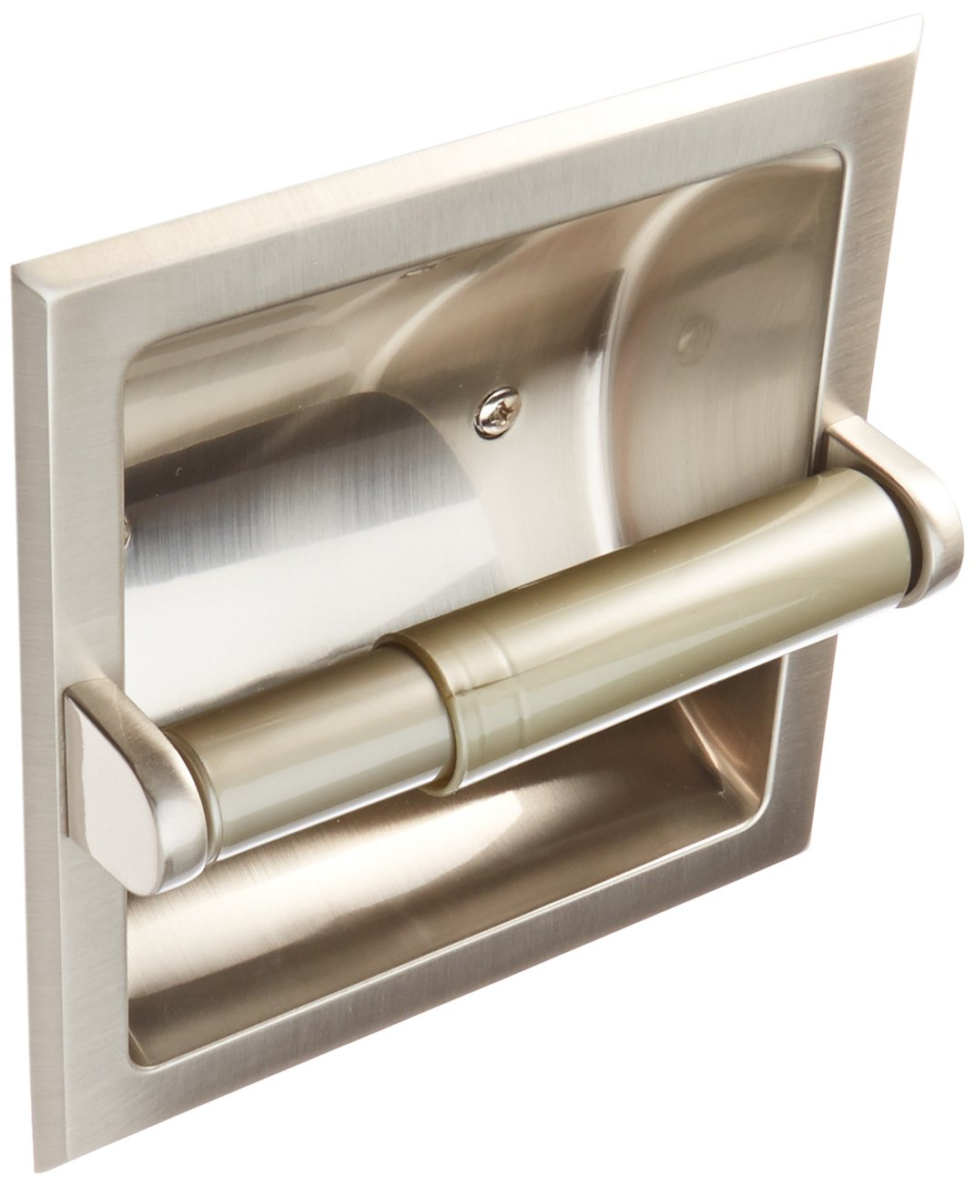 MINTCRAFT 776H-07-SOU Paper Holder Recess, Brushed Nickel