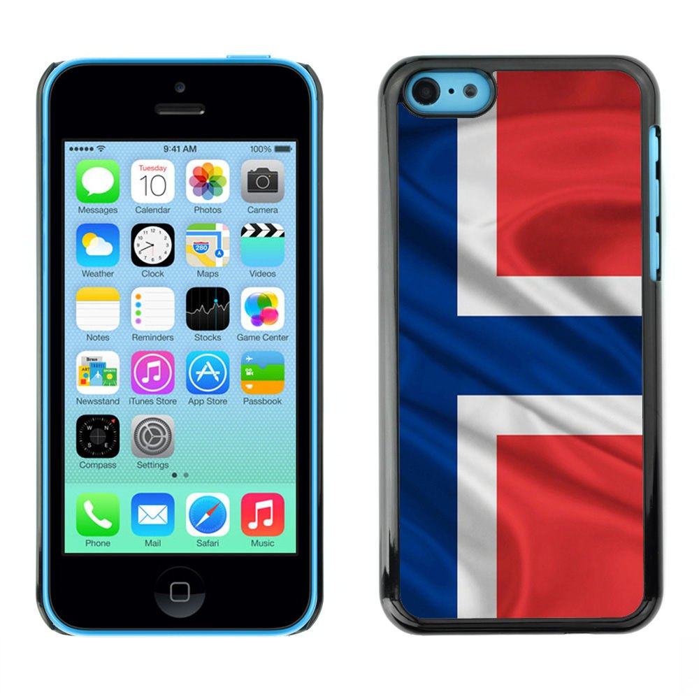 Norwegian Norway flag - - Slim Guard Armor Phone Case FOR