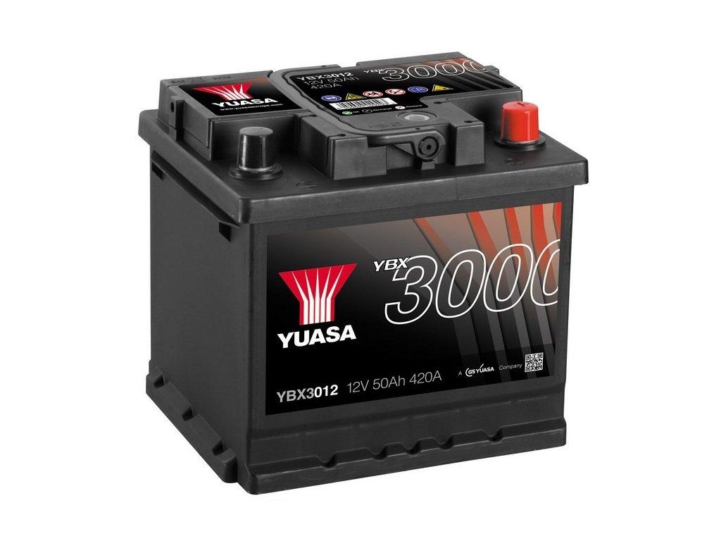 Yuasa YBX3012 SMF Starter Battery GS Yuasa