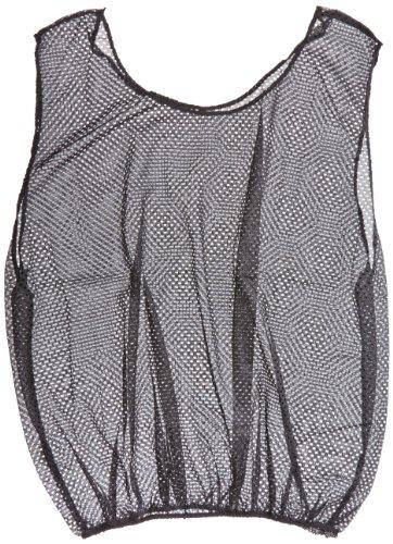 Sportime Mesh Scrimmage Vest - Adult Size - Black ()