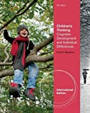img - for Children's Thinking: Cognitive Development and Individual Differences by David F. Bjorklund (20-Feb-2011) Paperback book / textbook / text book
