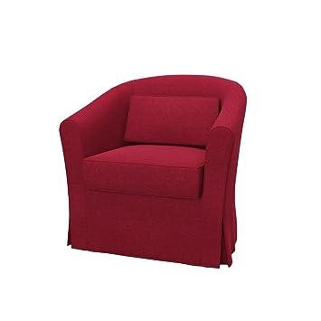 Poltrone Tessuto Ikea.Soferia Fodera Extra Ikea Ektorp Tullsta Poltrona Tessuto Classic Red