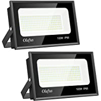 Olafus 2 Pack 100W Focos LED Exterior, IP66