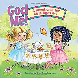 God And Me A Devotional For Girls Ages 4 7 Rosekidz 9781584111733 Amazon Com Books