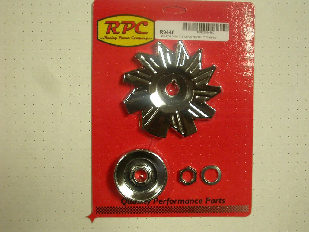 Racing Power R9446 Alternator Pulley and Fan