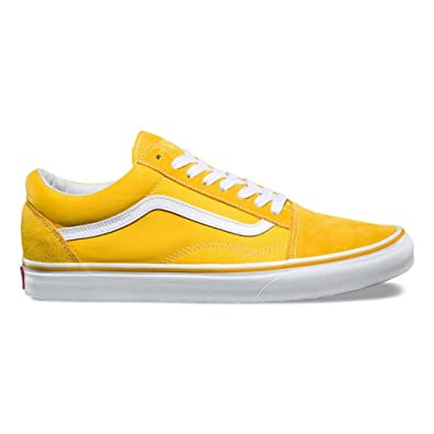 e57b42233228 Vans Old Skool(VA38G1MWH) - Spectra Yellow true White - 3.5  Amazon.co.uk   Sports   Outdoors