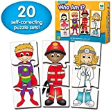The Learning Journey: Match It! - Who Am I? - Self-Correcting Matching Puzzle Set